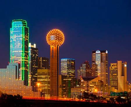 Guia de viajes  Dallas Estados Unidos